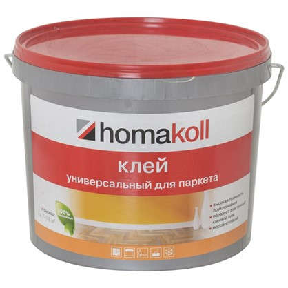 Клей водно-дисперсионный Homakoll для паркета 7 кг