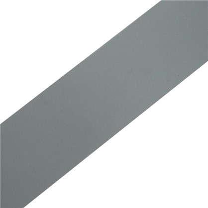 Клейкая лента для труб 48 мм 10 м ПВХ цвет серый