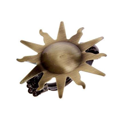 Клипса Бант металл цвет золото