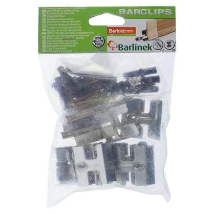 Клипсы монтажные для шпонированного плинтуса Barlinek 15 шт. в упаковке