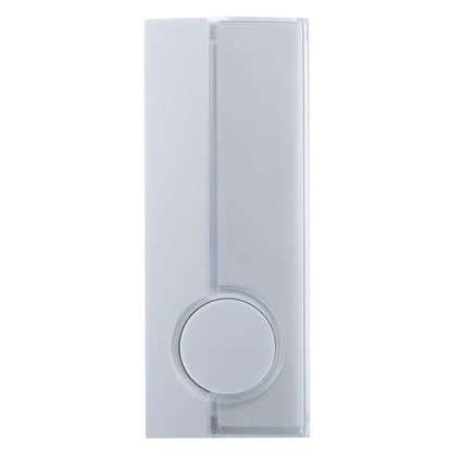 Купить Кнопка для проводного звонка Zamel с/п 220 В цвет белый дешевле