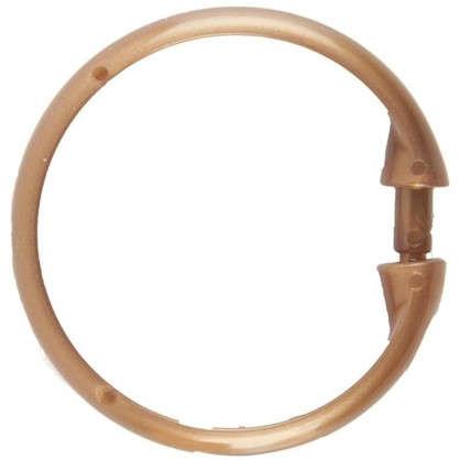 Купить Кольца для шторок круглые Vidage цвет бронза 12 шт дешевле