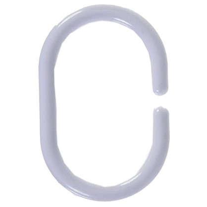 Купить Кольца для шторок Sensea пластиковые цвет белый 12 шт дешевле