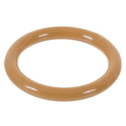 Купить Кольцо пластик цвет светлый дуб с крючоком 4 шт. дешевле