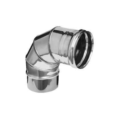 Купить Колено 4 секции угол 90 (430/0.5мм) D110 мм дешевле