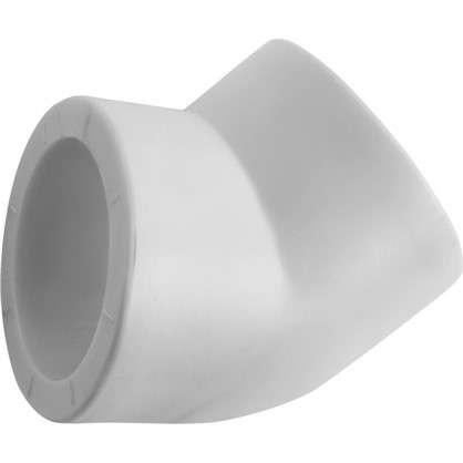 Колено с уклоном на 45 градусов 40 мм полипропилен