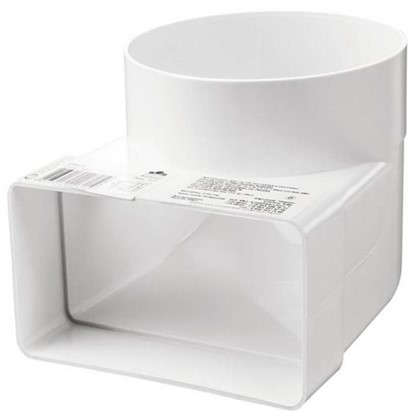 Купить Колено соединитильное плоское-круглое 60х204 D125 мм дешевле