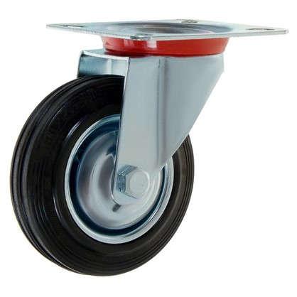 Купить Колесо 100 мм поворотное без тормоза дешевле