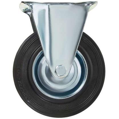 Колесо 125 мм неповоротное без тормоза