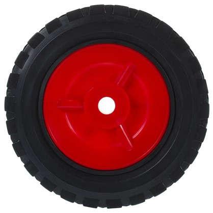 Колесо 150 мм с канавкой для газонокосилки неповоротное без тормоза