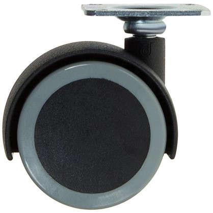 Колесо Alex1-0642 50 мм поворотное без тормоза