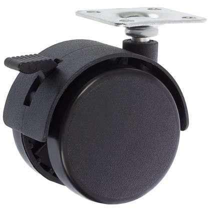 Колесо Boyard N101BL 50 мм поворотное с тормозом