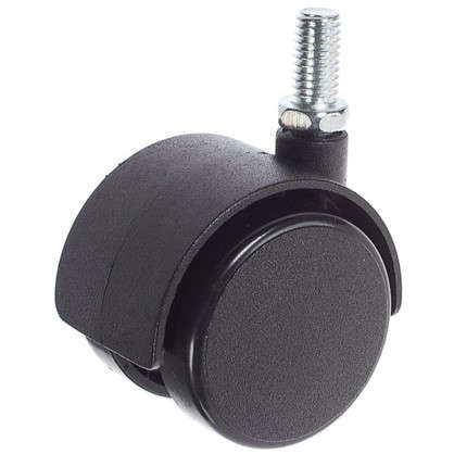 Колесо Boyard N111BL/BL.3 40 мм M8x15 мм без тормоза