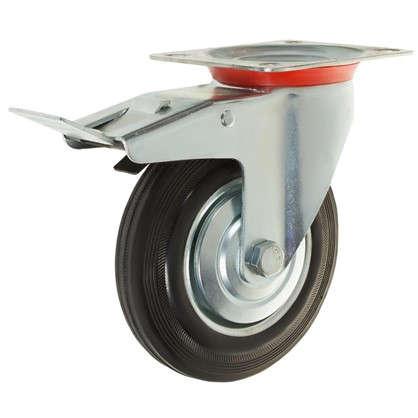 Колесо NF-0030 160 мм поворотное с тормозом
