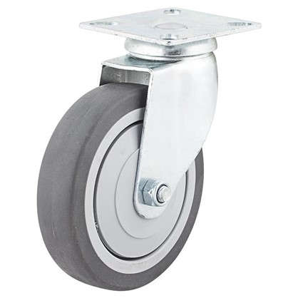 Колесо поворотное 100 мм поворотное без тормоза до 70 кг