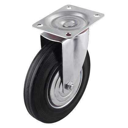 Купить Колесо поворотное 200 мм поворотное без тормоза до 205 кг дешевле