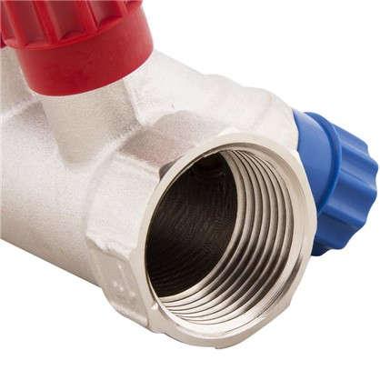 Купить Коллектор с регулирующими вентилями и наружной резьбой Valtec на 4 выхода 1x1/2 дешевле