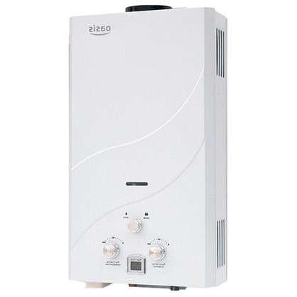 Газовая колонка Oasis 62х33х18.5 см 12 л/мин цвет белый