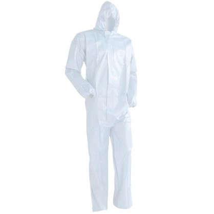 Купить Комбинезон ламинированный одноразовый размер 2XL цвет белый дешевле