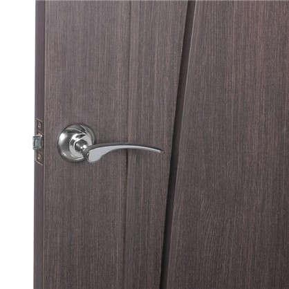 Комплект для межкомнатной двери Фабрика Замков 10L 170 BK с фиксатором цвет глянцевое серебро