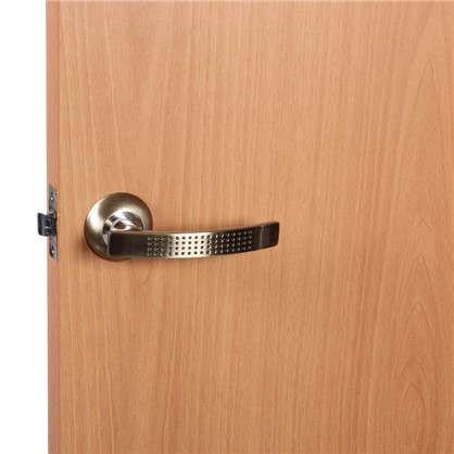Комплект для межкомнатной двери Фабрика Замков 11L 170 BK с фиксатором цвет бронза