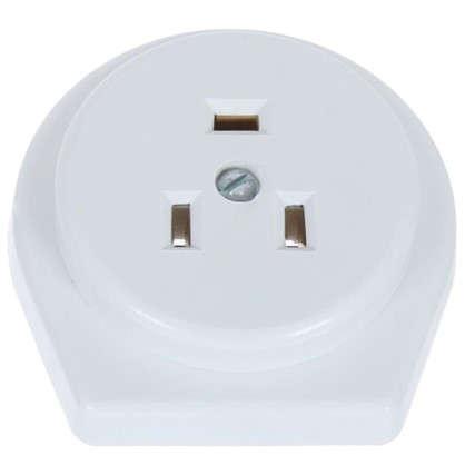 Комплект для плиты с заземлением скрытая установка цвет белый 32А