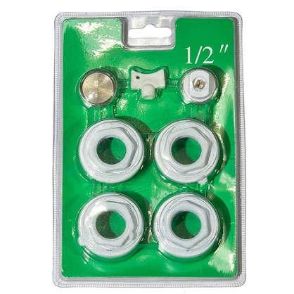 Комплект для подключения радиатора R08 1 дюймаx1/2 дюйма