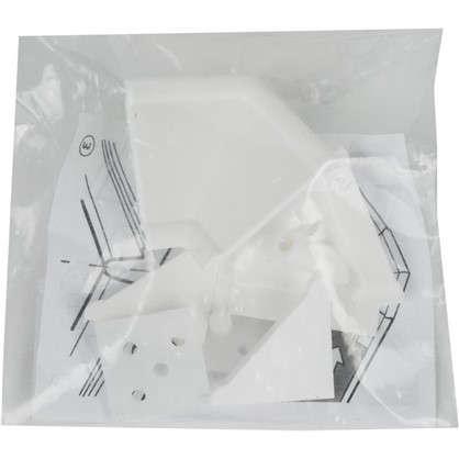 Комплект для установки плинтуса цвет белый