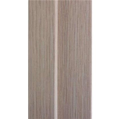 Комплект дверной коробки Белеза 2100х70х28 мм цвет белый дуб
