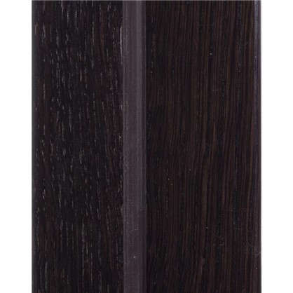 Комплект дверной коробки шпон Вельми 2100х75 мм цвет венге