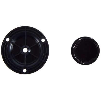 Купить Комплект опоры барной стойки для трубы 50 мм цвет черный дешевле