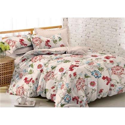 Купить Комплект постельного белья Аллегро евро сатин дешевле