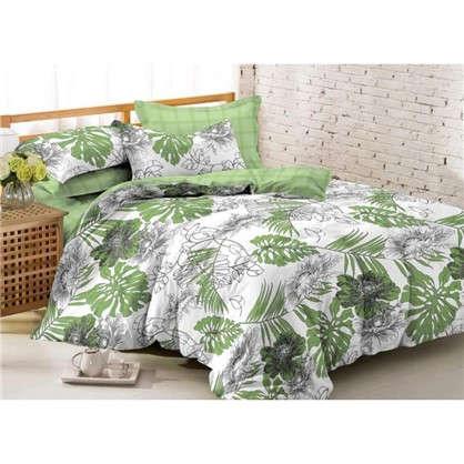 Комплект постельного белья Джангл 2-спальный сатин
