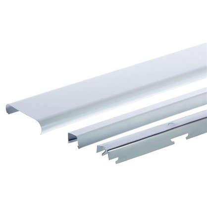 Комплект потолка для туалета 1.35х0.9 м цвет белый глянцевый