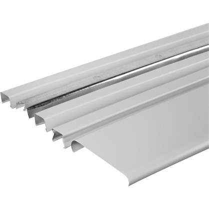 Комплект потолка для туалета 1.35х0.9 м цвет белый матовый