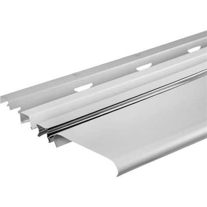 Комплект потолка для ванной 1.72x1.7 м цвет белый матовый/хром