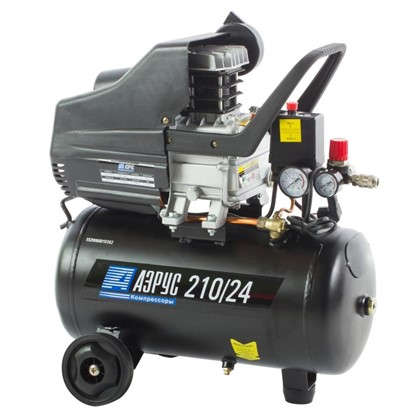 Компрессор масляный Аэрус 24 л 210 л/мин. 1.5 кВт