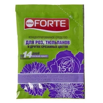 Концентрированное средство Bona Forte для срезанных цветов 0.015 кг