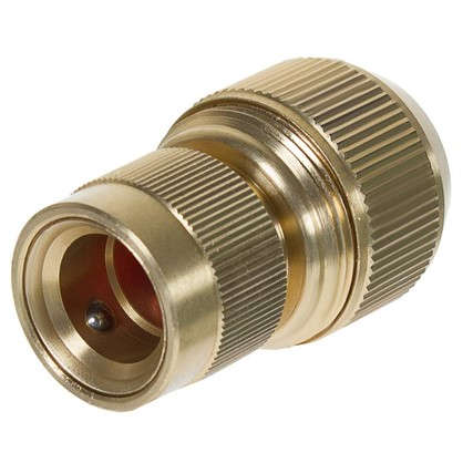 Коннектор 3/4 дюйма с аквастопом латунь