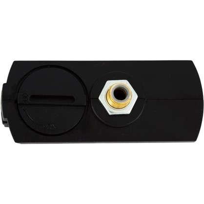 Коннектор для провода плоский цвет черный