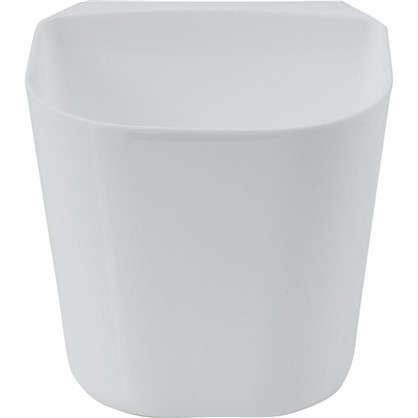 Контейнер навесной пластик цвет белый