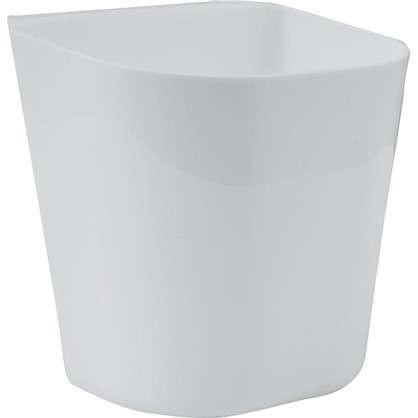 Купить Контейнер навесной пластик цвет белый дешевле