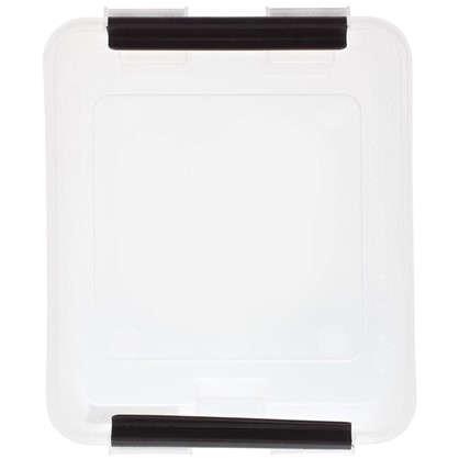 Купить Контейнер Rox Box с крышкой 17x10.5x21 см 2.5 л пластик цвет прозрачный дешевле