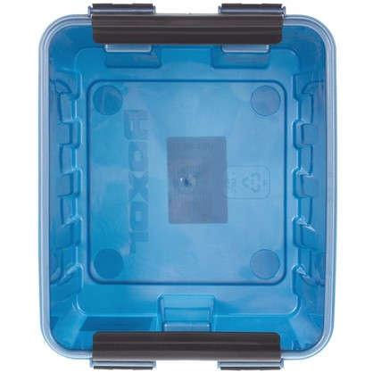 Купить Контейнер Rox Box с крышкой 17x14x21 см 3.5 л пластик цвет синий дешевле