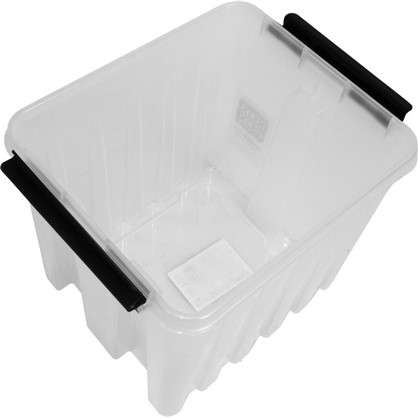 Контейнер Rox Box с крышкой 17x18x21 см 4.5 л пластик цвет прозрачный