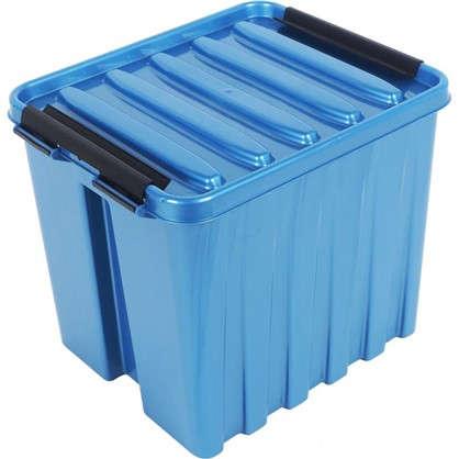 Контейнер Rox Box с крышкой 17x18x21 см 4.5 л пластик цвет синий
