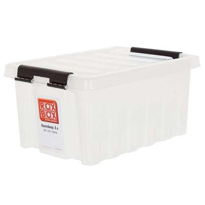 Контейнер Rox Box с крышкой 8 л прозрачный