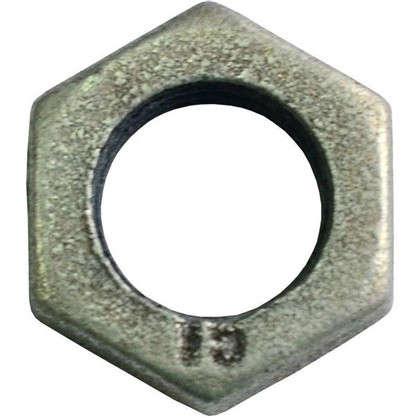 Контргайка оцинкованная 1/2 мм чугун