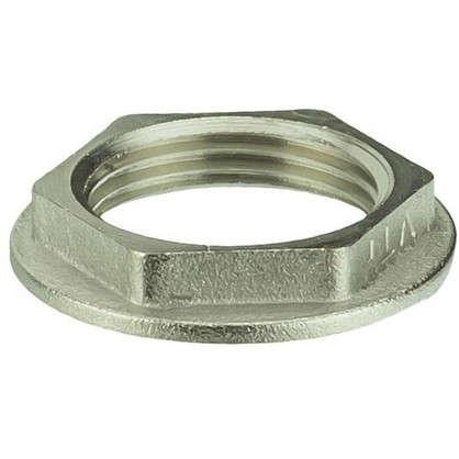 Контргайка Valtec 3/4 мм никелированная латунь