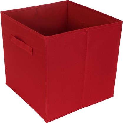 Короб 31х31х31 полиэстер цвет красный